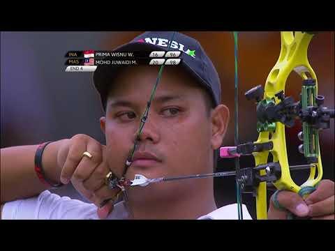 Posisi Indonesia SEAG 2017 Kuala Lumpur Archery INDIVIDUAL COMPOUND 2 EMAS