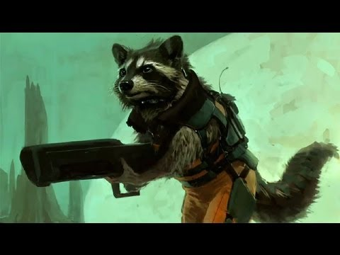 Guardians of the Galaxy Rocket Raccoon Teaser - Comic Con 2013