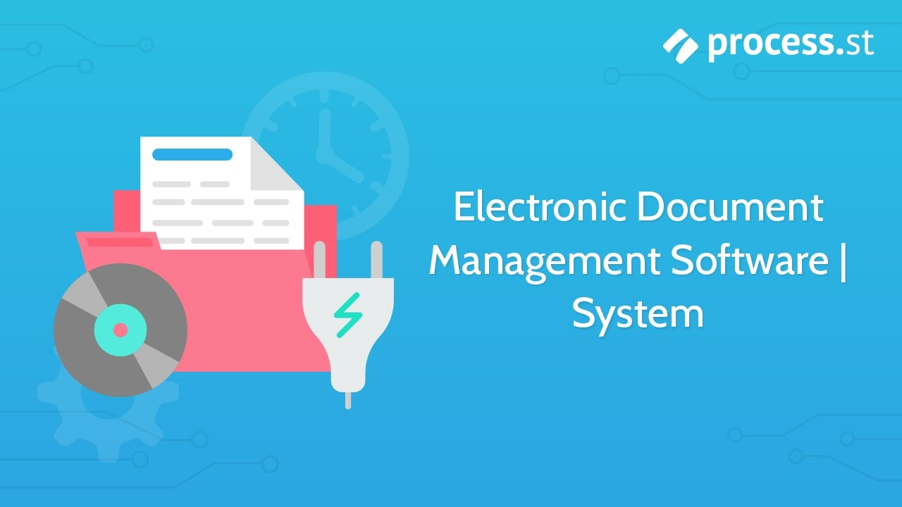 Electronic Document Management Software System Youtube