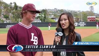 Top Recruit | LHP/1B Cutter Clawson - Laguna Beach Baseball