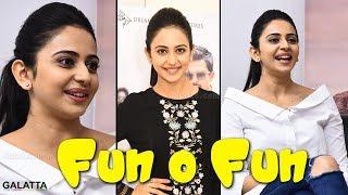 All about hot and cute Rakul Preet in one shot - Fun o Fun | Theeran Adhigaaram Ondru