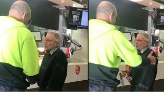 An Old Man Was Holding Up The Line At McDonald's So This Builder Decided Enough Was Enough