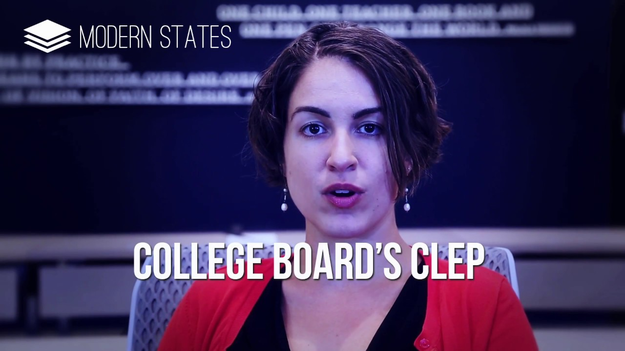 Passing the CLEP and Learning with Modern States - Modern States