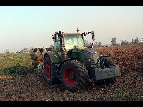 NEW FENDT Vario 724 Profi + Moro Warrior 4 ali - RONGONI CONTO TERZI |Plowing