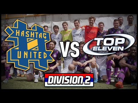 HASHTAG UNITED vs TOP ELEVEN IN SERBIA! (Final Division 2 Game!)