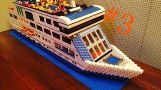 Супер обзор #3: Лего круизный лайнер / MOC:  Lego cruise liner