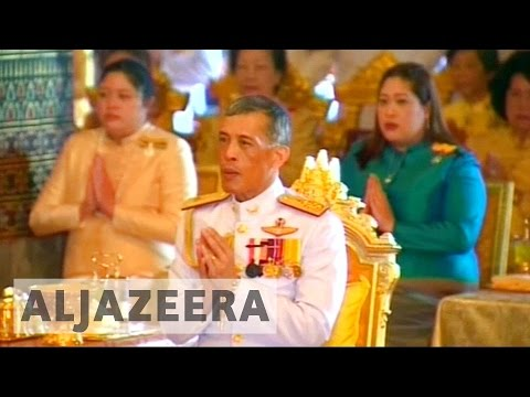 Thailand invites crown prince to become new king