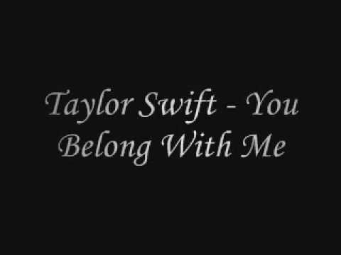 Taylor Swift - You Belong With Me (Lyrics)
