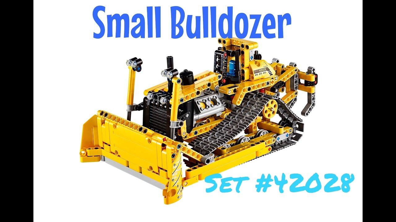 Lego Technic Small Bulldozer Set 42028 Youtube