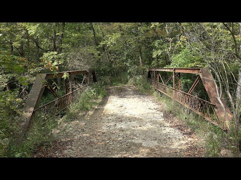 The  Phantom  Bridge  on  the  Old  Trackville  Ghost  Road