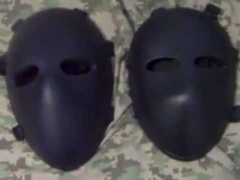 ballistic mask review - YouTube