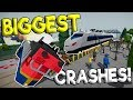 CREATING THE BIGGEST TRAIN CRASH! - Beware of Trains Gameplay - Train Crash Simulator