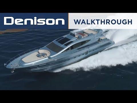 102 CCN Flying Sport Yacht [Walkthrough]