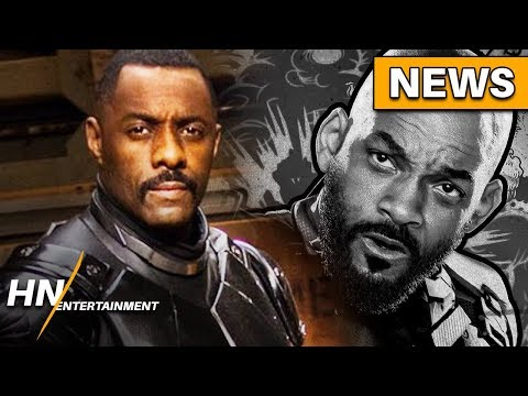 Idris Elba to REPLACE Will Smith as Deadshot for Suicide Squad 2