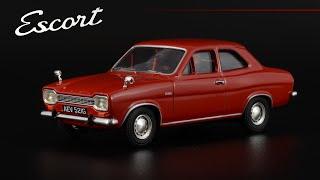 Ford Escort Mk I 1300 Super 1968 Dragoon Red • Vanguards • Масштабные модели...