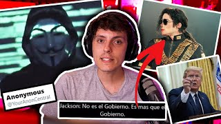 Todo sobre ANONYMOUS Michael Jackson y Trump ESCONDIDO en un BUNK-Wefere NEWS
