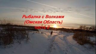 Зимняя Рыбалка на Иртыше с Комфортом соседи Стая Волков часть 2