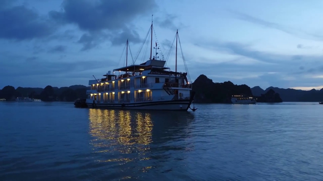 halong bay tours pelican cruise youtube. Black Bedroom Furniture Sets. Home Design Ideas