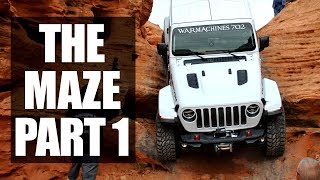 Sand Hollow The Maze | Jeep Wrangler JL Rubicon | The Drop