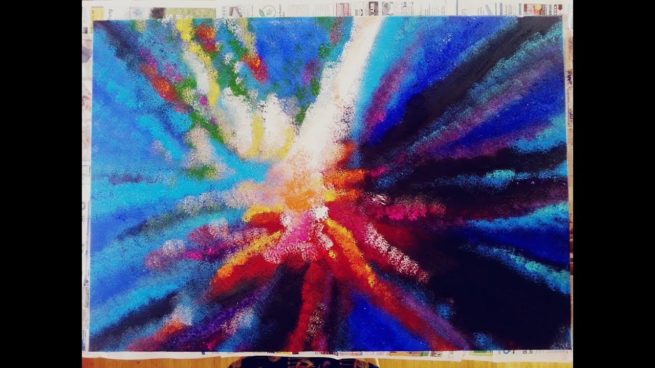 Abstrakte Acrylmalerei Maralis Abstract Acrylic Painting