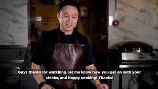 Join Seafire's Head Chef Raymond Wong in Cooking the Perfect Steak!