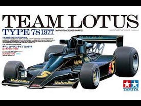 Tamiya 1/20 Team Lotus Type 78 built review
