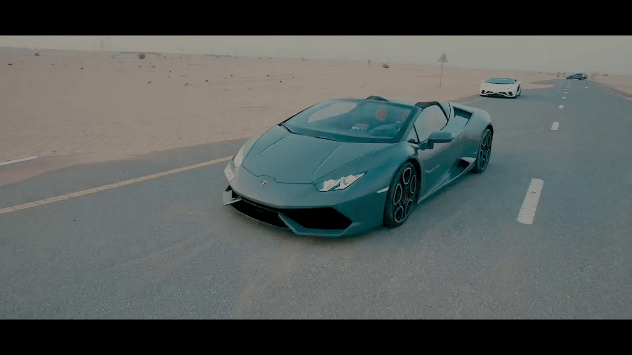 Supercars Uptown Rent A Car Run Dubai City Youtube