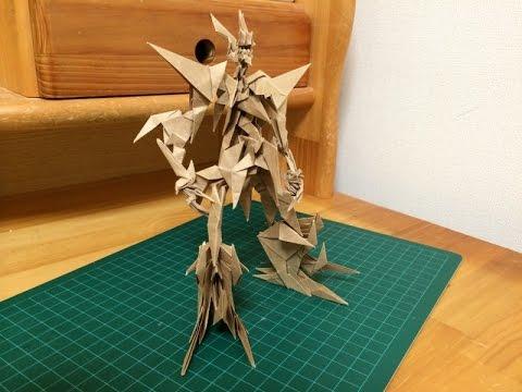 簡単 折り紙:折り紙 ドラゴン 作り方-youtube.com