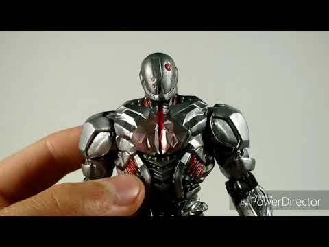 DC Comics Multiverse Cyborg Walmart Exclusive Action Figure Review