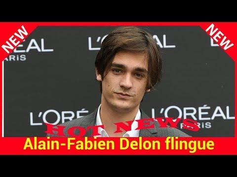 Alain-Fabien Delon flingue son père : « Il rend les gens fous »