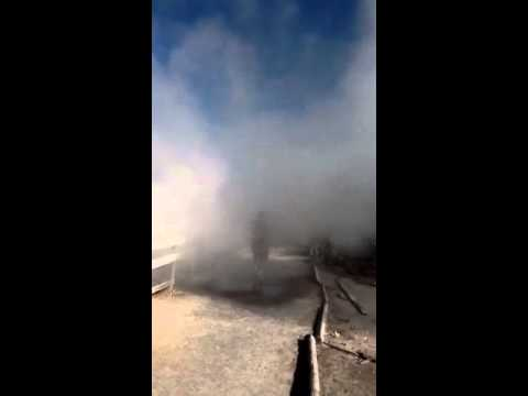 The stink of a Yellowstone geyser!!