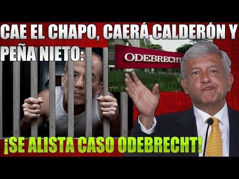 CAE EL CHAPO YGRACIAS A AMLO ¡CAE FELIPE CALDERÓN Y PEÑA NIETO!