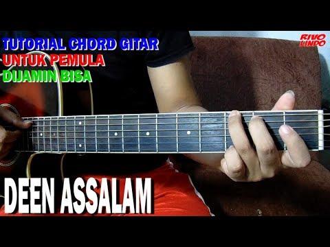 TUTORIAL CHORD DEEN ASSALAM VERSI MUDAH