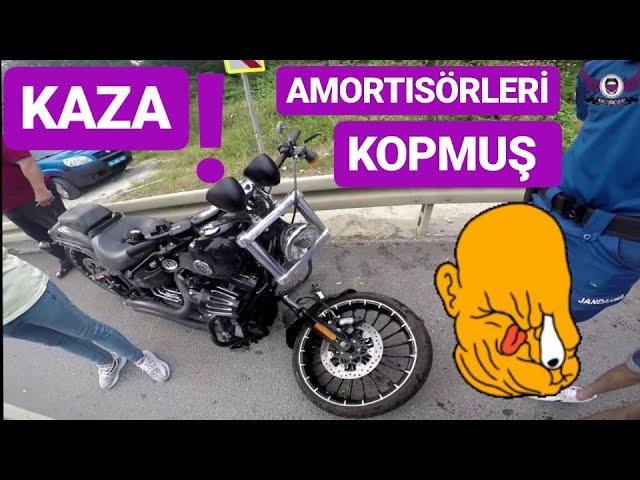 Sıradışı Motosiklet Kazası ? Viraj Günü Denk Geldik !!!
