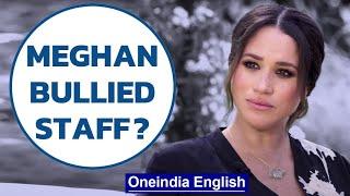 Meghan Markle accuses Buckingham Palace of perpetuating falsehoods | Oneindia News