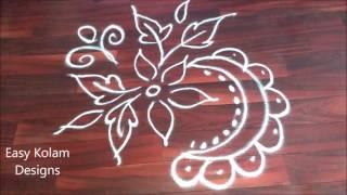 easy kolam rangoli designs | easy kolam designs | easy rangoli, easy free hand rangoli designs