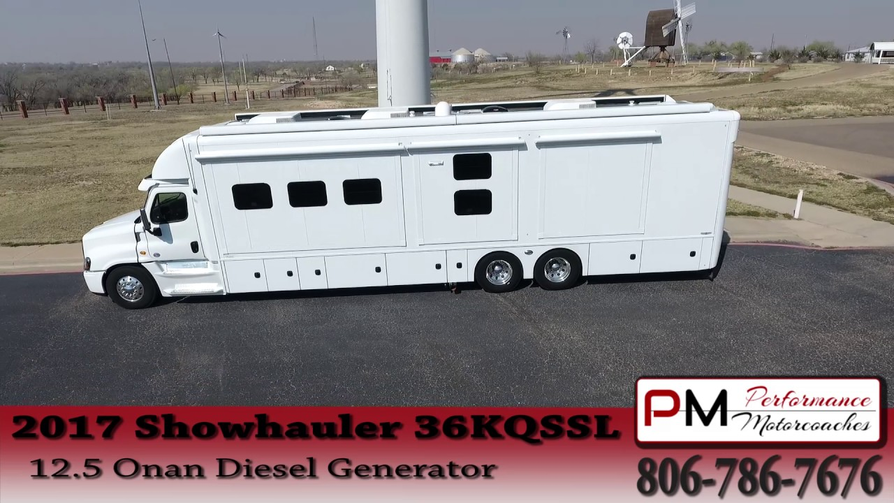 Showhauler Custom Motorhome RV Performance Motorcoaches #1639