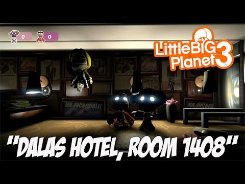 Dalas Hotel, Room 1408 [Community Levels] Little BIG Planet 3 (PS4 Father & Son Gameplay)