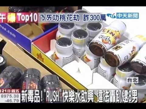 新毒品!「Rush」快樂水助興 違法轟趴逮8男 - YouTube
