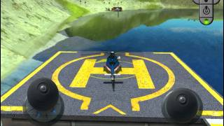 3D Helicopter Parking Simulator Games - Real Heli Flying Driving Test Run Park Sim Game iOS Gameplay