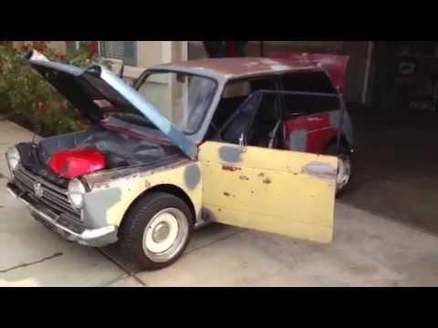 Honda N600 engine swap- RWD