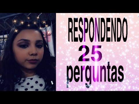 TAG 25 PERGUNTAS -EDUARDA SALES