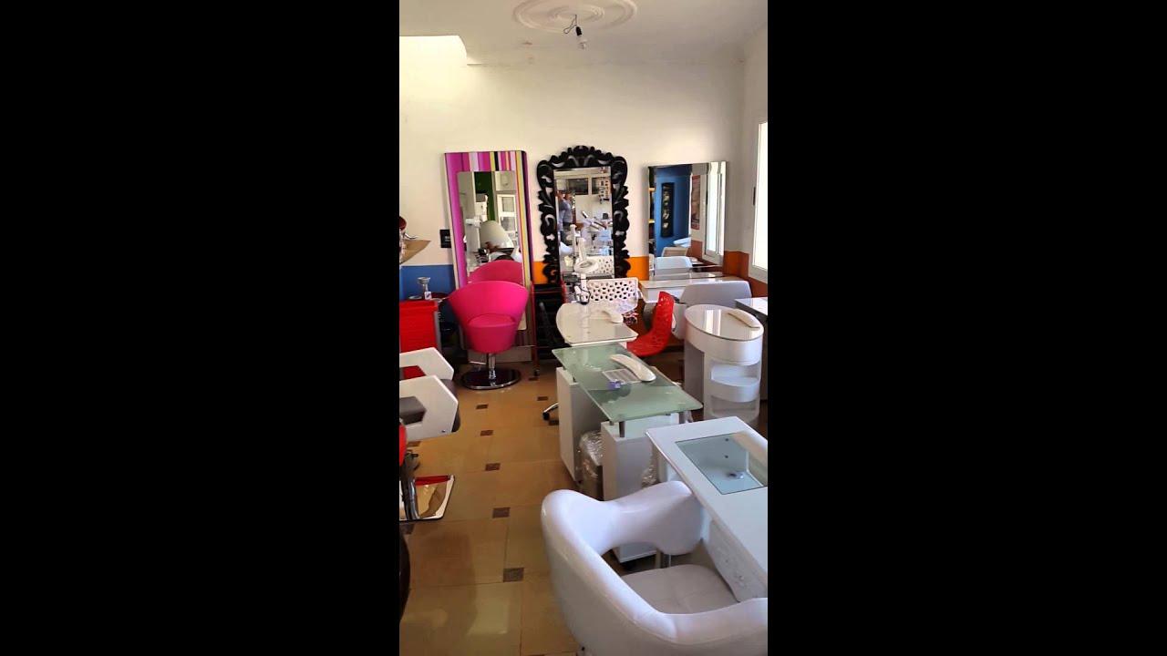 Mat riel de coiffure et esth tique youtube for Materiel salon de coiffure occasion