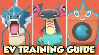 EV TRAINING Gyarados, Dragapult, & Rotom-W | Pokemon Sword & Shield