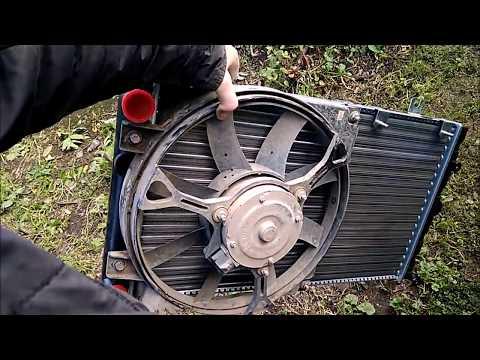 Как поменять радиатор на калине