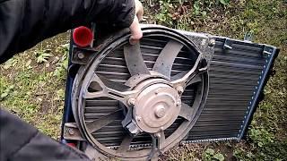 Как поменять радиатор охлаждения на Калине