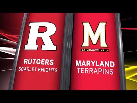 Big Ten Basketball Highlights - Rutgers at Maryland
