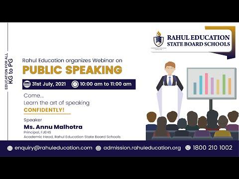 Rahul Education Organizes Webinar on -
