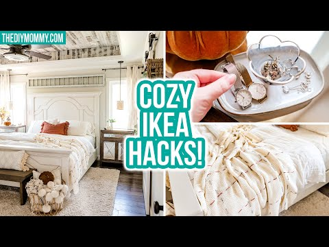 diy-ikea-hacks-for-a-cozy-fall-bedroom