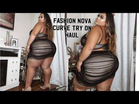 Fashion Nova Curve Try on Haul October (GABRIELLAGLAMOUR) from YouTube · Duration:  15 minutes 58 seconds